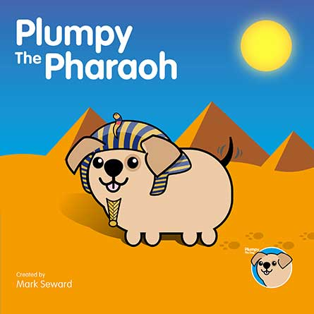 Front cover of Plumpy The Pharaoh